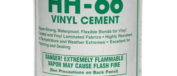 Vinyl Cement with Tent Material Patch Kit