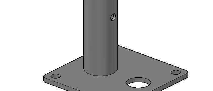 6″ x 6″ Base Plate Standard
