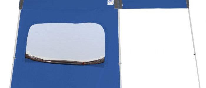 Recreational 12' Sidewalls with Mesh Window - Angle Legs