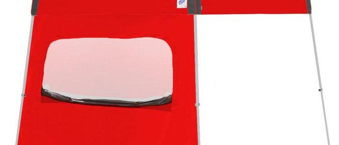 Recreational 10' Sidewalls with Mesh Window - Angle Legs