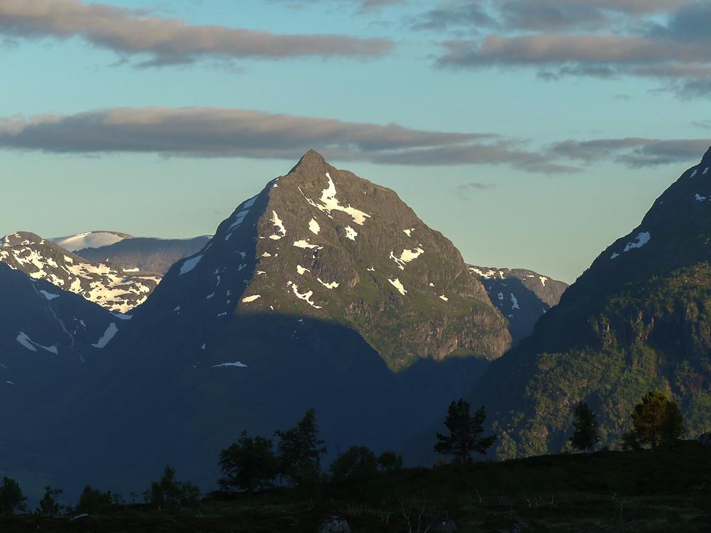 Hiking the iconic Eggenipa mountain in Vestland in Norway