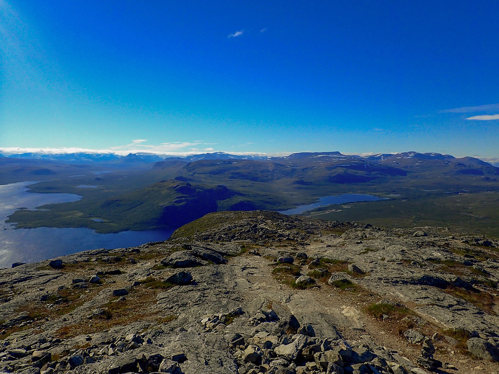 We got lost of the time and speed on a 14km hike in Kilpisjärvi, Finland.