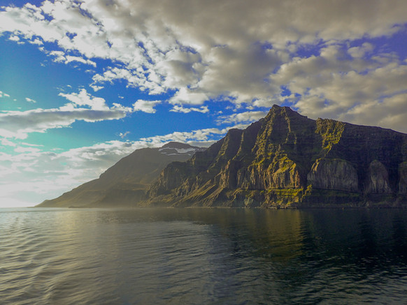 Sailing from Denmark to Seyðisfjörður, Iceland with Smyrilline