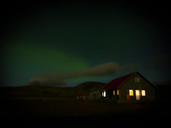Northern Lights in Alftavatn, Iceland