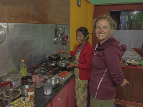 The people of Panauti, Nepal