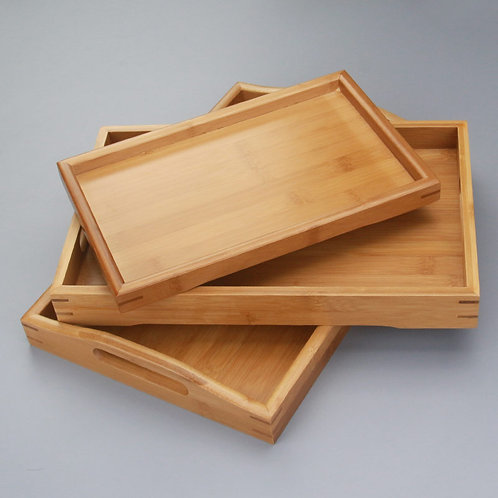 Japanese Style Bamboo Coffee Tea Tray