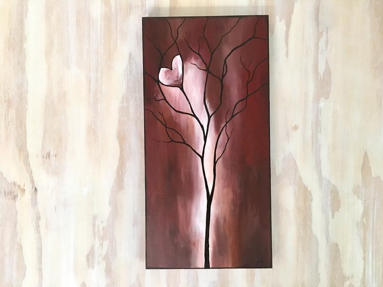 Tree of Life Deep Red
