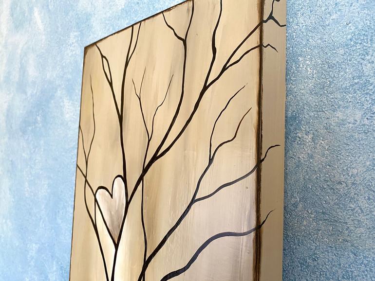 Tree of Life Tan Edge Detail