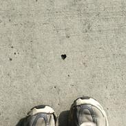 Tiny Lower Petes Canyon Heart