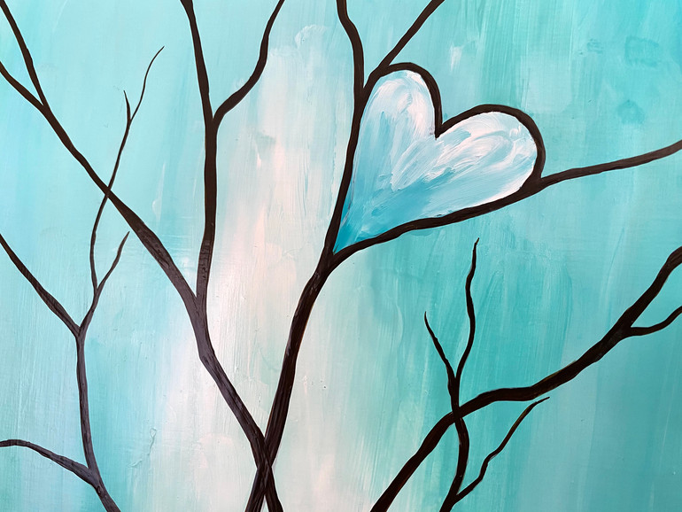 Tree of Life Teal Detail
