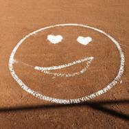 Softball Field Heart