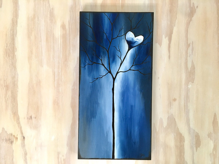 Tree of Life Dark Blue