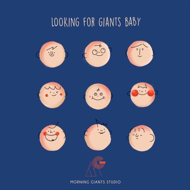 Hi! Giants Baby