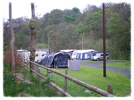 A great place to put up a tent at Felin