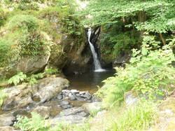A wonderful waterfall at Felin Uchaf