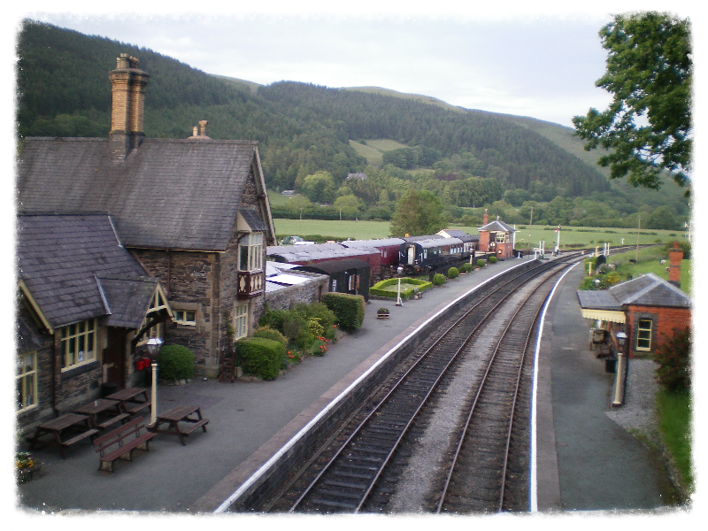 Carrog Rail way Station