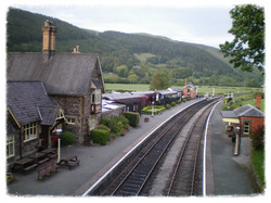 Carrog Rail way Station