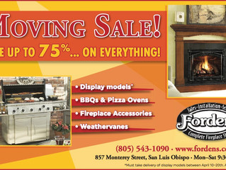 Moving Sale on Now!