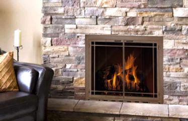 doorfireplaces inserts gas wood burning fordens san luis obispo glass doors