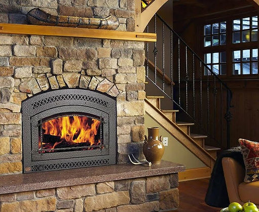 fireplaces inserts gas wood burning fordens san luis obispo slo