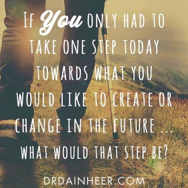 Take one step towards