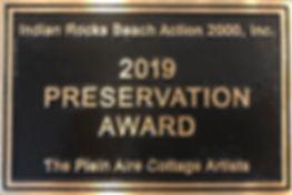 2019 Preservation Award.JPG