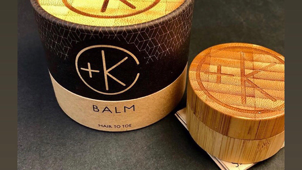 CULT+KING BALM |  For Skin, Shave, Hair, The Works | 3.4 oz. Bamboo Jar