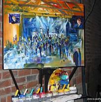 Greg Kalamar Live Painting