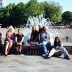 Seattle Center Fountain 08/22/02