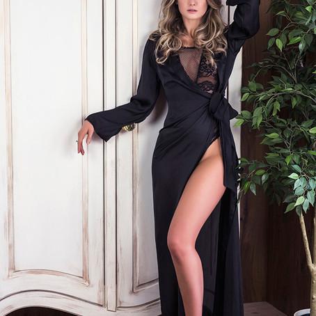 Styled boudoir photoshoot