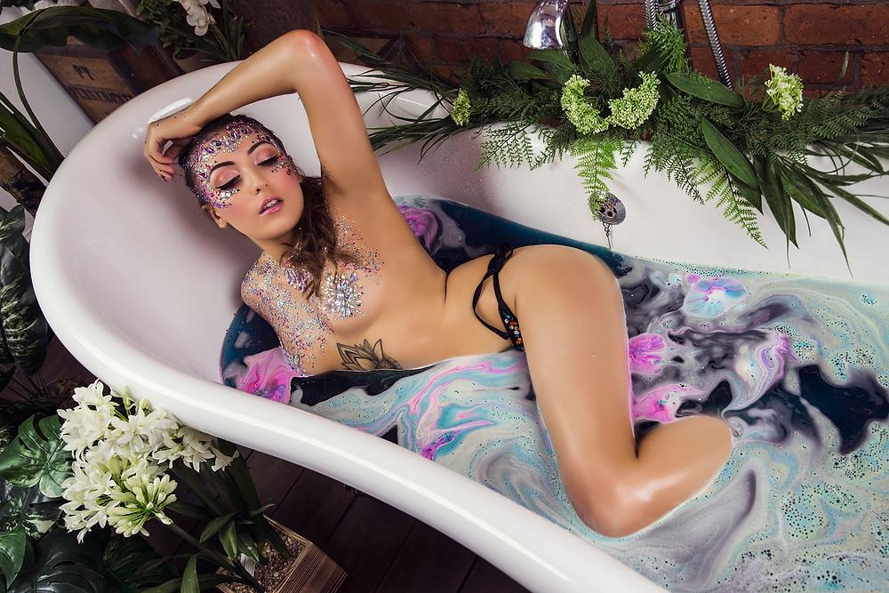 Moonchild Glitter Bath