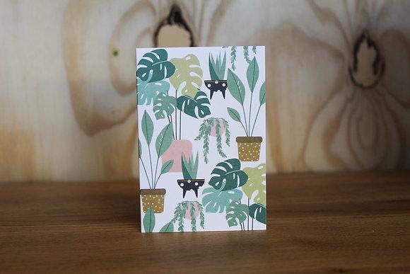 Houseplant Mini Card