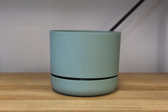 Decor Self Watering Pot 170mm Cabinet Green