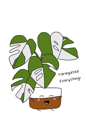 Variegated Everything Sticker