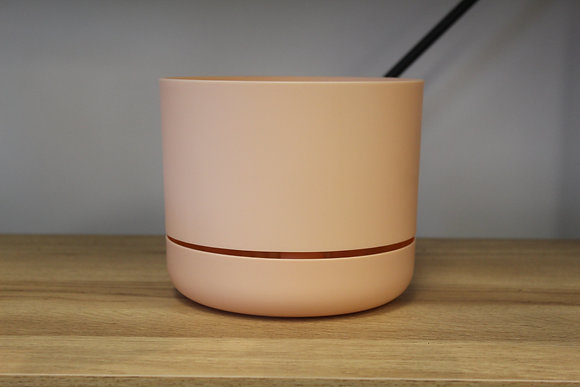 Decor Self Watering Pot 170mm Pale Apricot