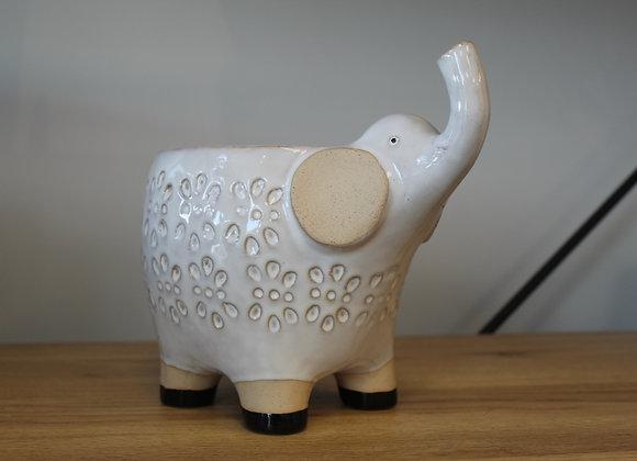Elle Elephant Pot