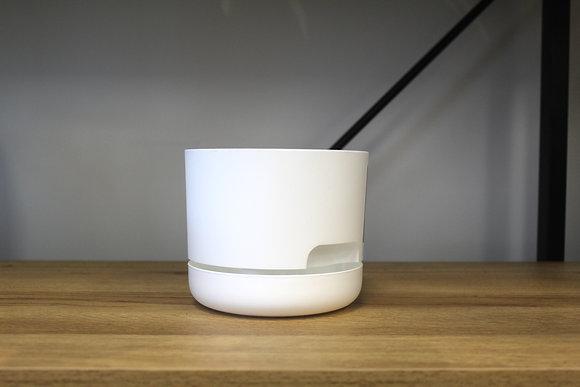 Decor Self Watering Pot 130mm White