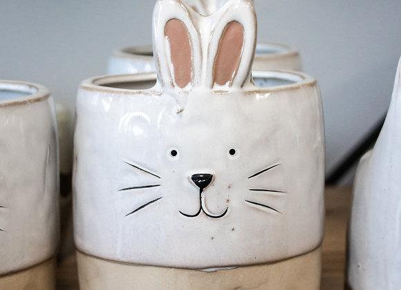 Nibbles Rabbit Pot