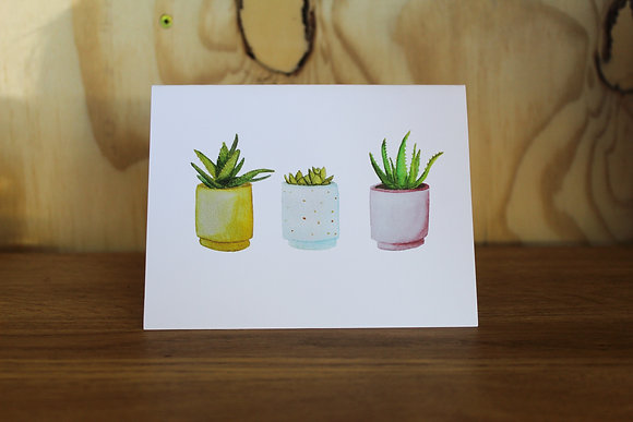 Houseplants card