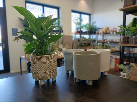 Footed Pot Range Small