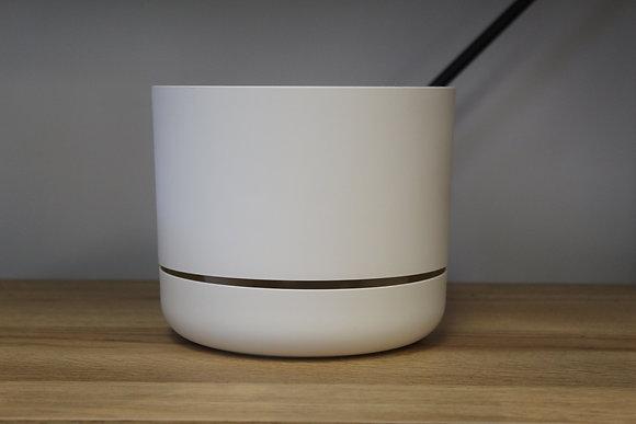 Decor Self Watering Pot 170mm White Linen