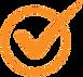Orange Checkmark Transparent.png