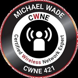 CWNE #421 Badge.png