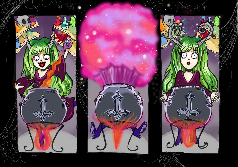 Witch comic strip