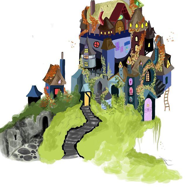 Concept house illustration