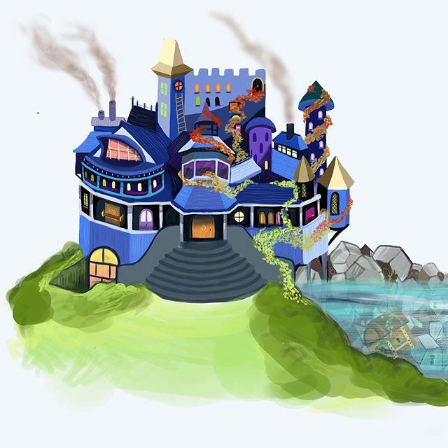 Concept house illustration 2