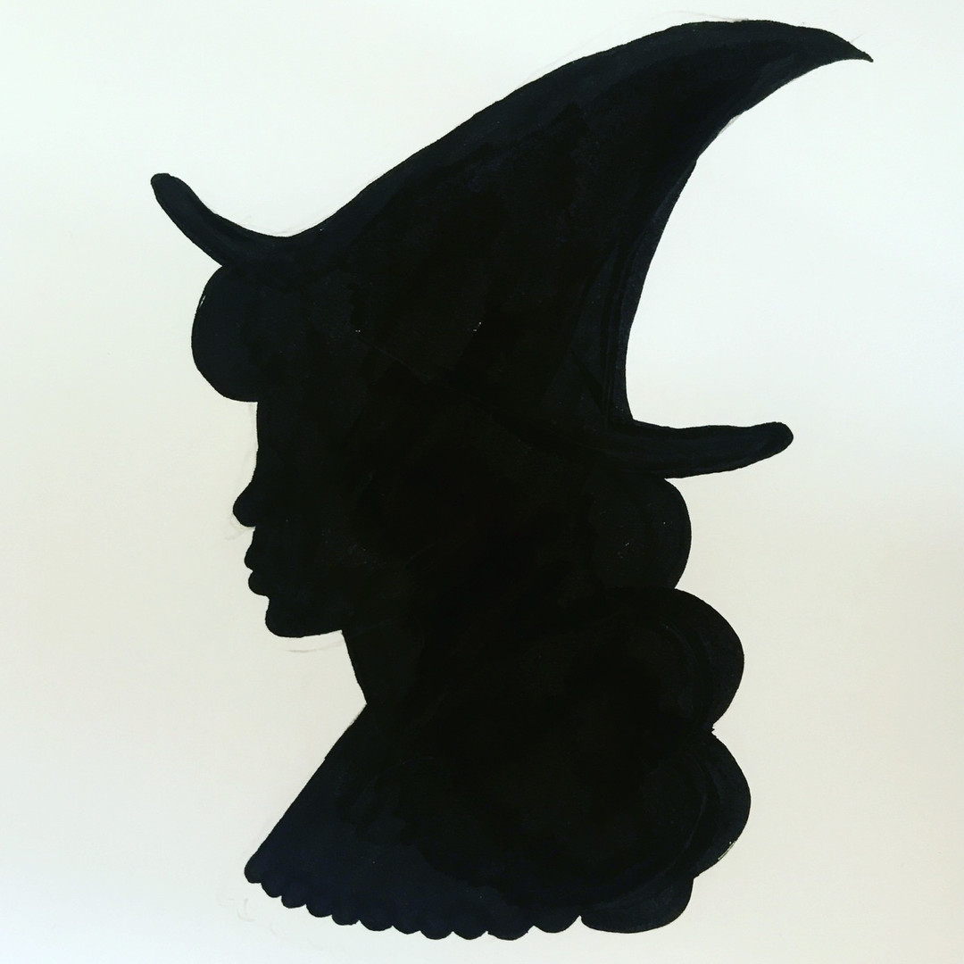 Witchy silhouette