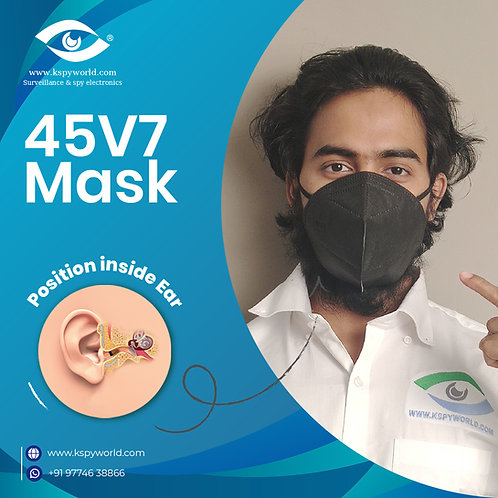 GSM Magnetic Mask 45V7 With nano Magnetic Earpiece set