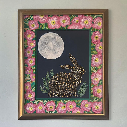 """""""Illumination"""" Original Painting - Framed and matted"""