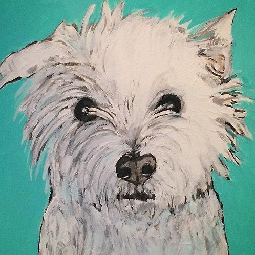8 x 10 inch Pet Portrait